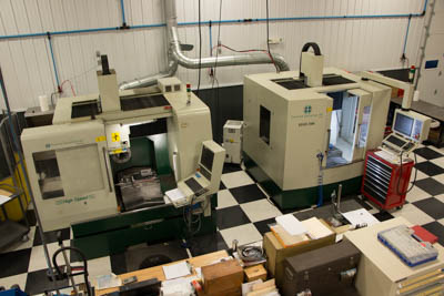 Hard milling machines