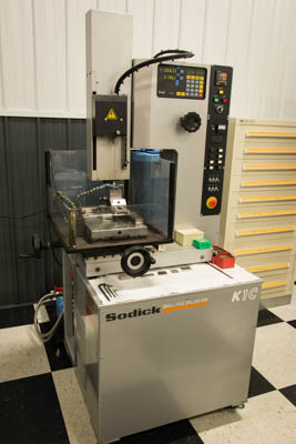 Sodick K1C Small Hole Drill EDM (Hole Popper)
