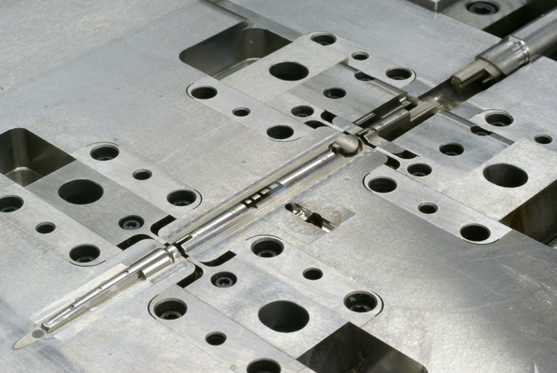 Plastic injection mold detail